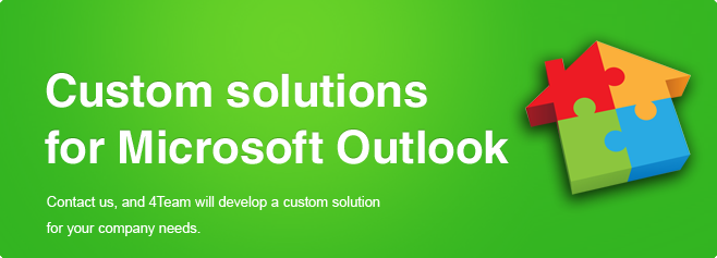 Custom solutions for Microsoft Outlook.