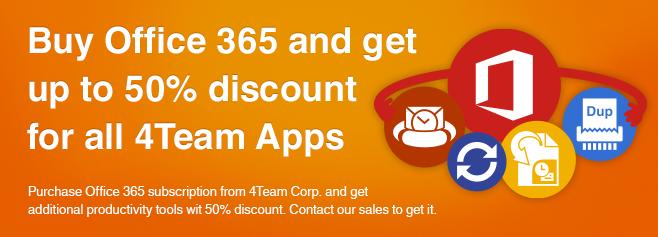 从Team Corp购买Office订阅并以折扣价获得其他生产力工具