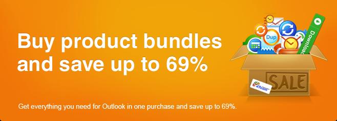 Compre paquetes de productos y ahorre hasta un 69%