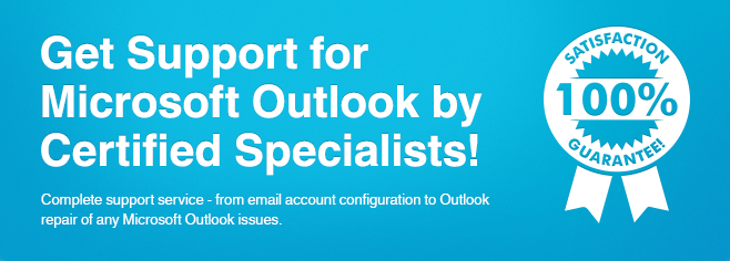 Get support for Microsoft Outlook by certified specialists.