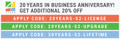 4Team Corporation is 20 Years in Business!